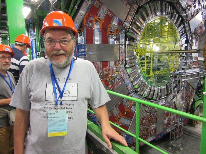 Paul Sutherland at CERN